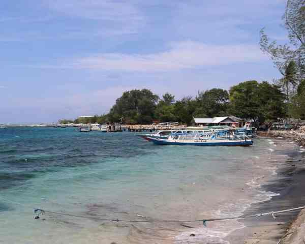 Water Taxis and Gili Air Ferry Terminal