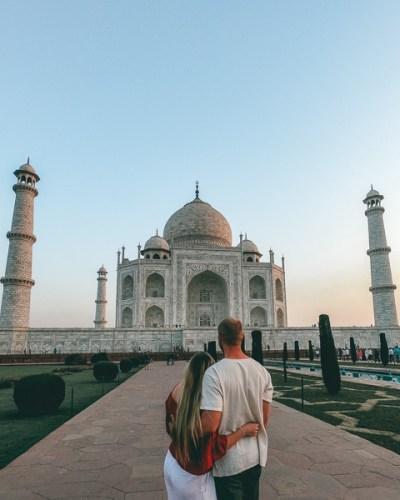 Taj Mahal Sunrise 1 - 600 4x5
