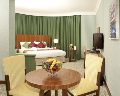 Where to stay in Abu Dhabi: City Season Al Hamra Hotel