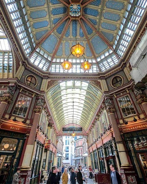 Harry Potter London - Leadenhall Market