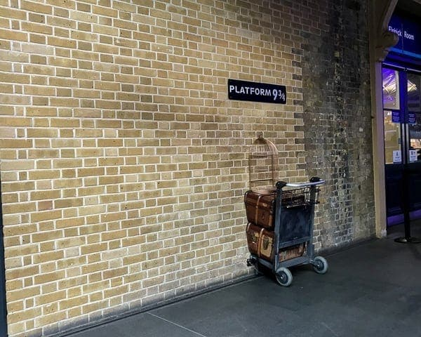 Free Things to do in London Harry Potter Tour - Platform 9 3/4