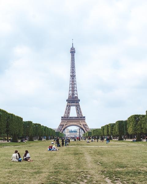 Best Instagram Spots Eiffel Tower