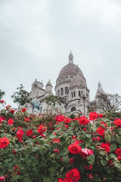 Basilique du Sacré-Cœur Montemart Paris
