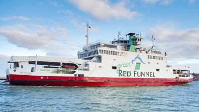 How to get to the Isle of Wight - Red Funnel