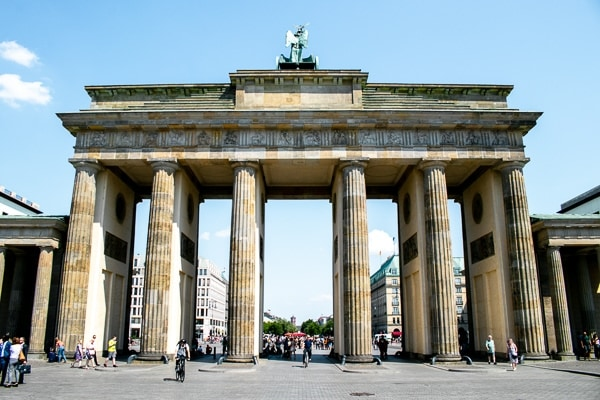 Best things to do in Berlin on a budget - Brandenburg Gate