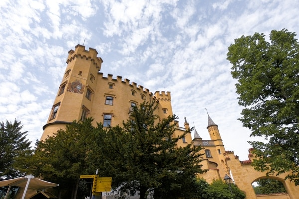 How to see Neuschwanstein Castle for free - Hohenschwangau Castle