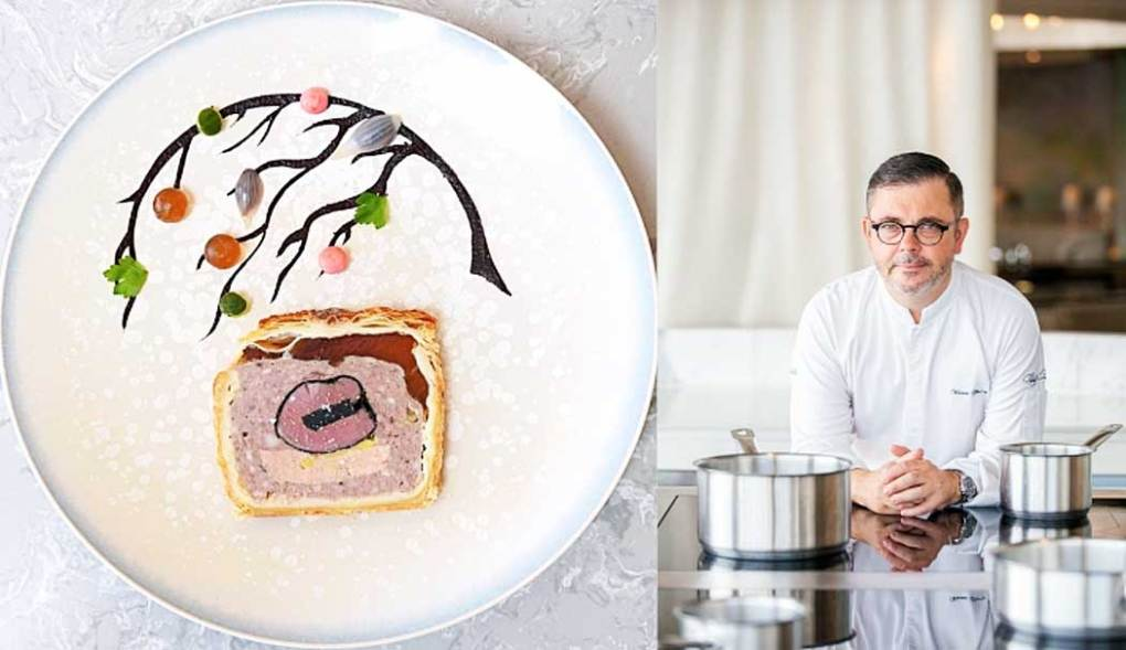 Pâté en croûte by Chef Vincent Thierry