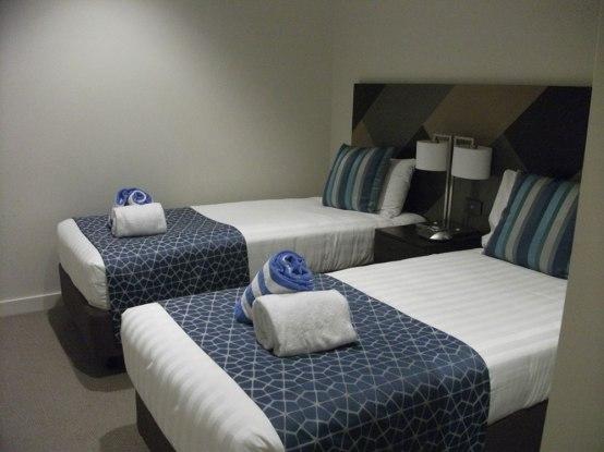 Wyndham Hotel Melbourne second bedroom