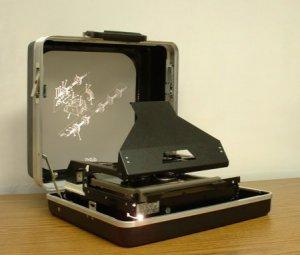 Briefcase Microfiche Readers