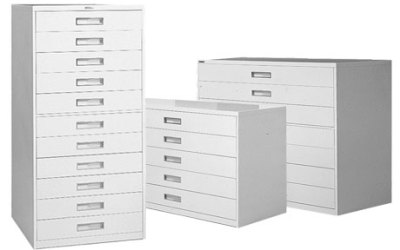 Russ Bassett Cabinets Keep Microfilm Safe and Well Organized