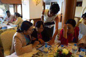Corinne UNESCO Myanmar