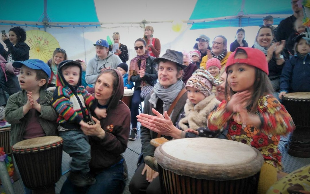 The World Music School at The World Village Festival!