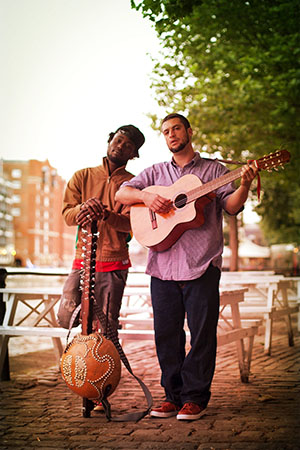 Joe Driscoll and Sekou Kouyate 2