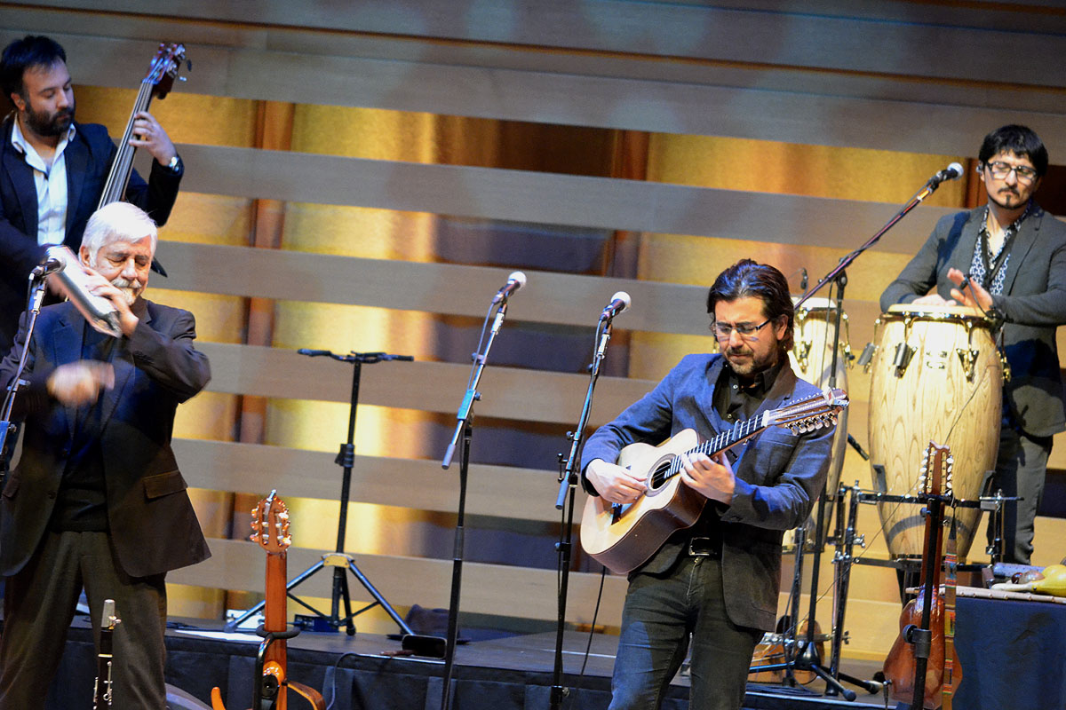 Inti-Illimani In Concert At Koerner Hall, Toronto - Oct 27 2017 05