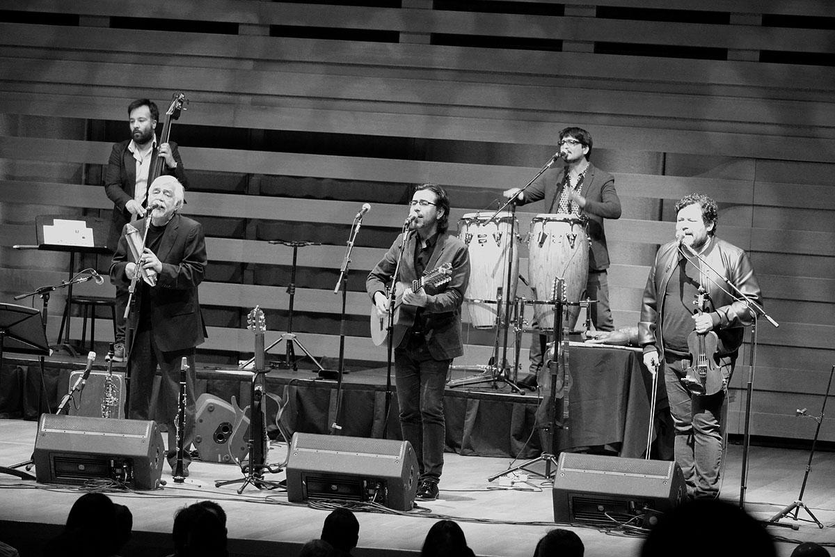 Inti-Illimani In Concert At Koerner Hall, Toronto - Oct 27 2017 07