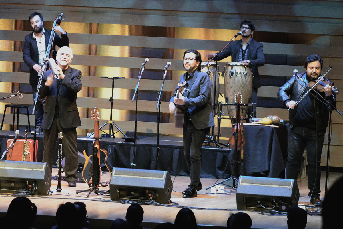 Inti-Illimani In Concert At Koerner Hall, Toronto - Oct 27 2017 08