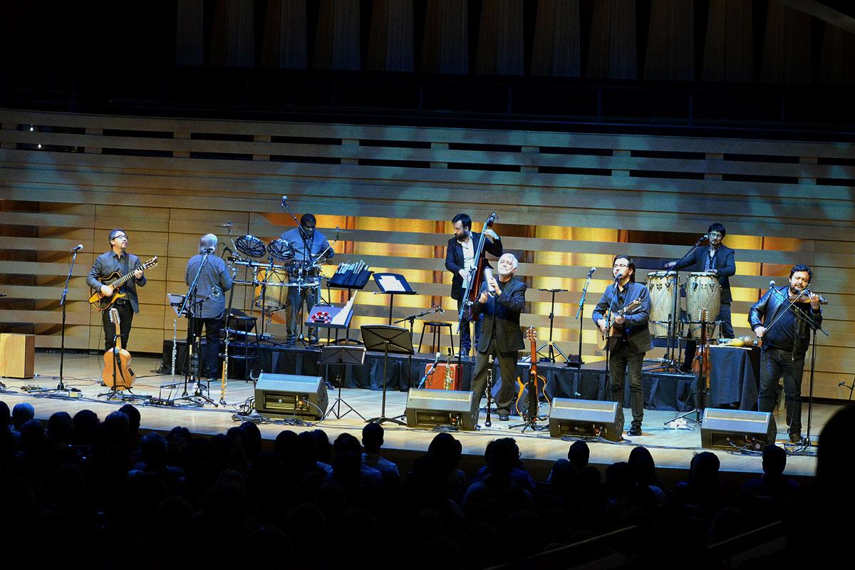 Inti-Illimani In Concert At Koerner Hall, Toronto - Oct 27 2017 09