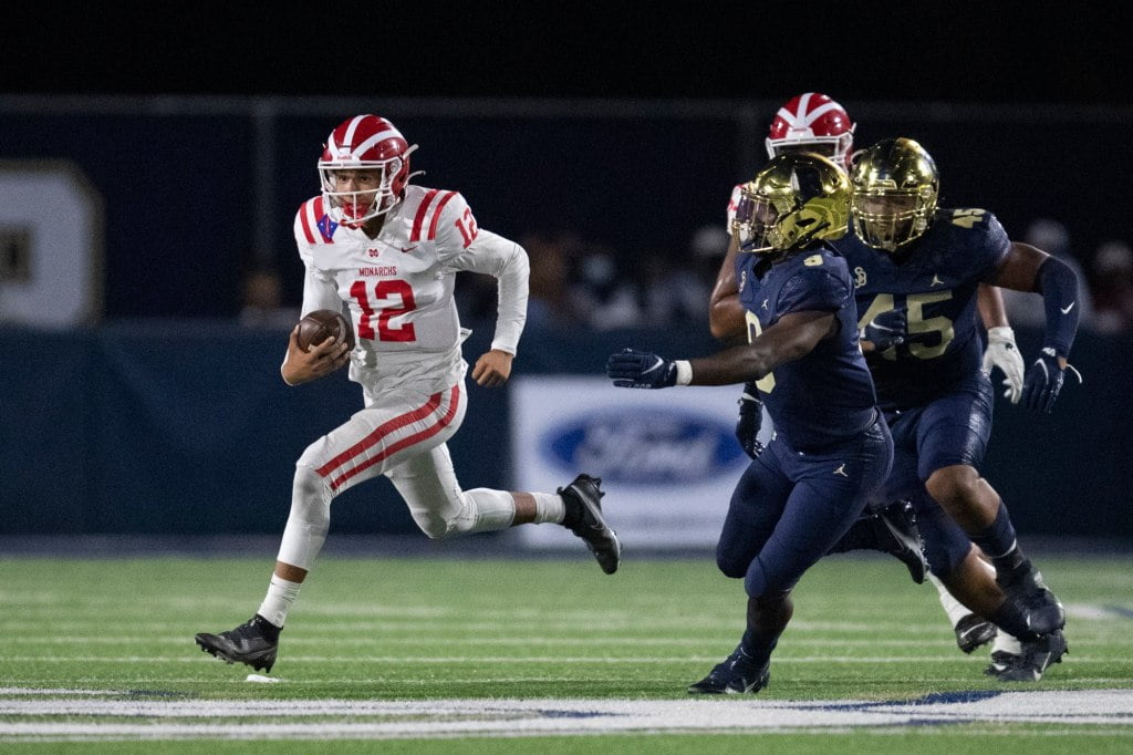 Whicker: Mater Dei put a loss on fireworks in beating St. John Bosco