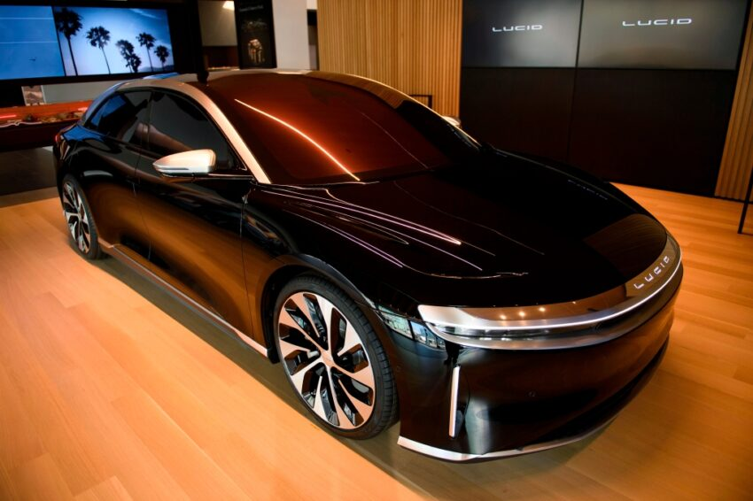Bay Area-based Lucid says air sedan will be first car in U.S. to use lidar