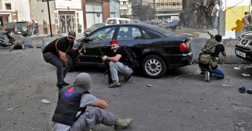 Deadly clashes in Beirut raise fears about Lebanon's plight