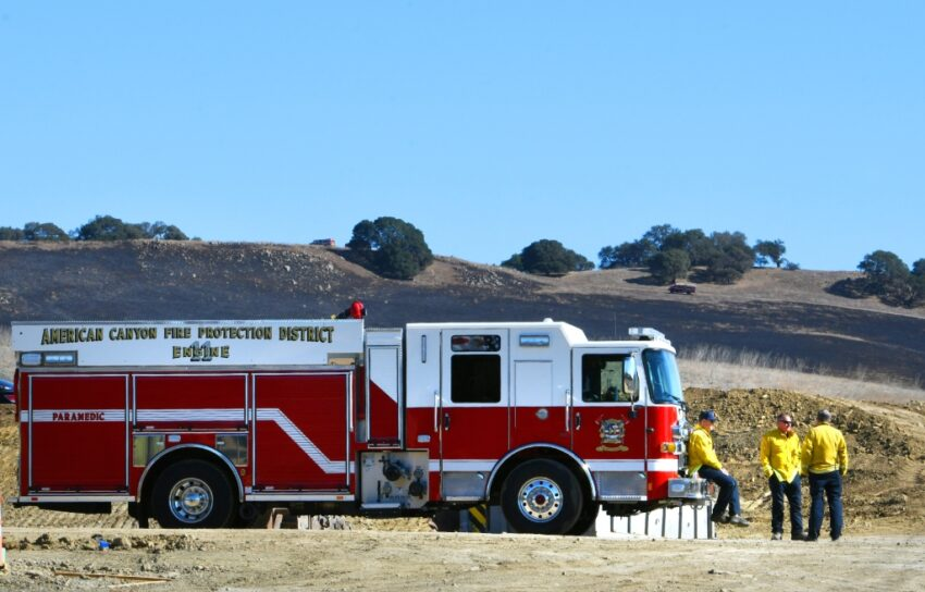 Man taken into custody in connection with Newell Fire in American Canyon