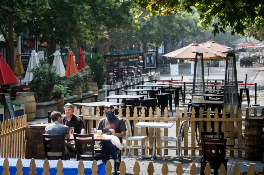 This Peninsula city plans to go car-free, expand outdoor dining along the area's 'crown jewel'