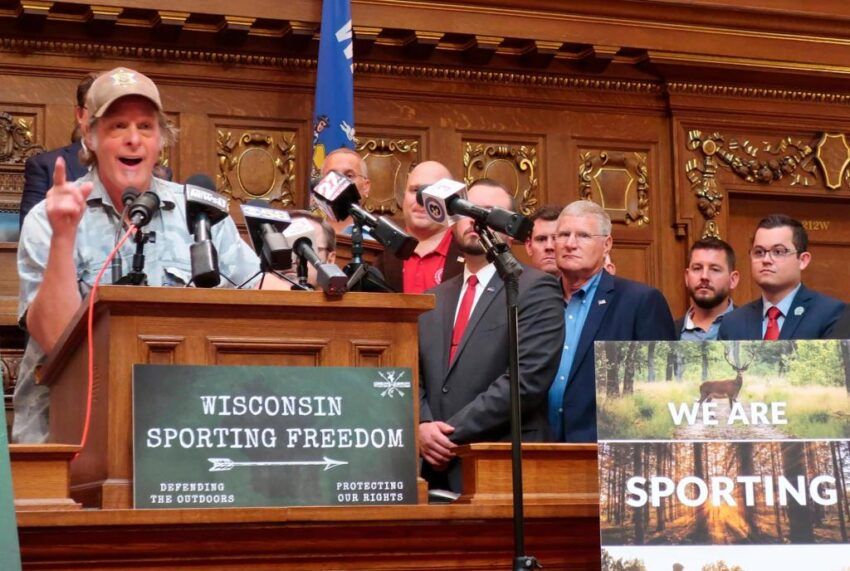 Wisconsin Republican Pushes Ted Nugent for Sandhill Crane Hunt