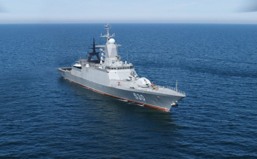 Russia launches 6th ship of The Project 20380 (Steregushchy-class corvette)