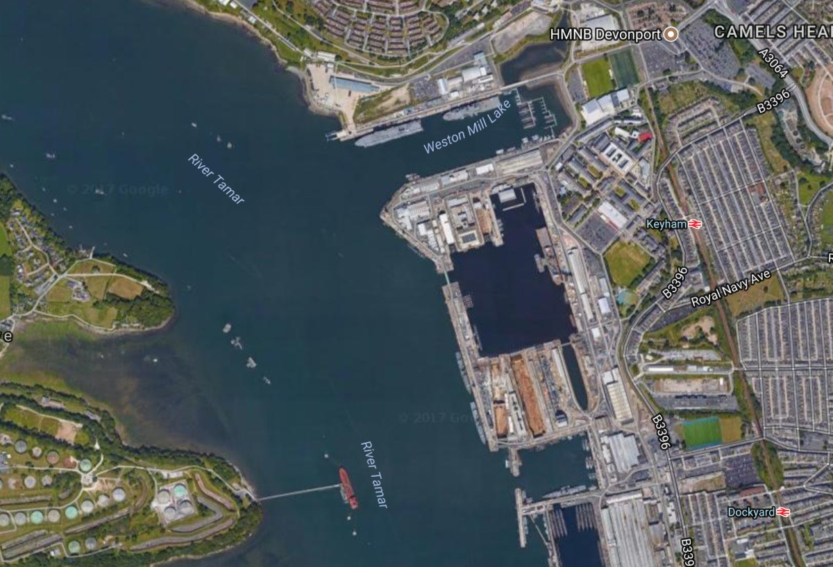 DIO awarded a contract for new jetty at Royal Navy Devonport Naval Base