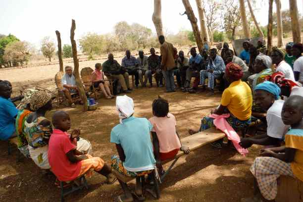Regular community training sessions are at the heart of APDC's work.