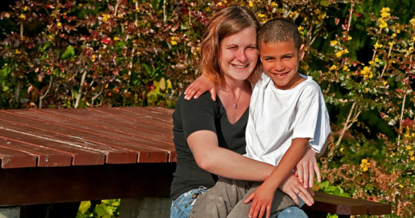 Molly Sanders attended court with her son and was extatic when the judge ordered the tests.
