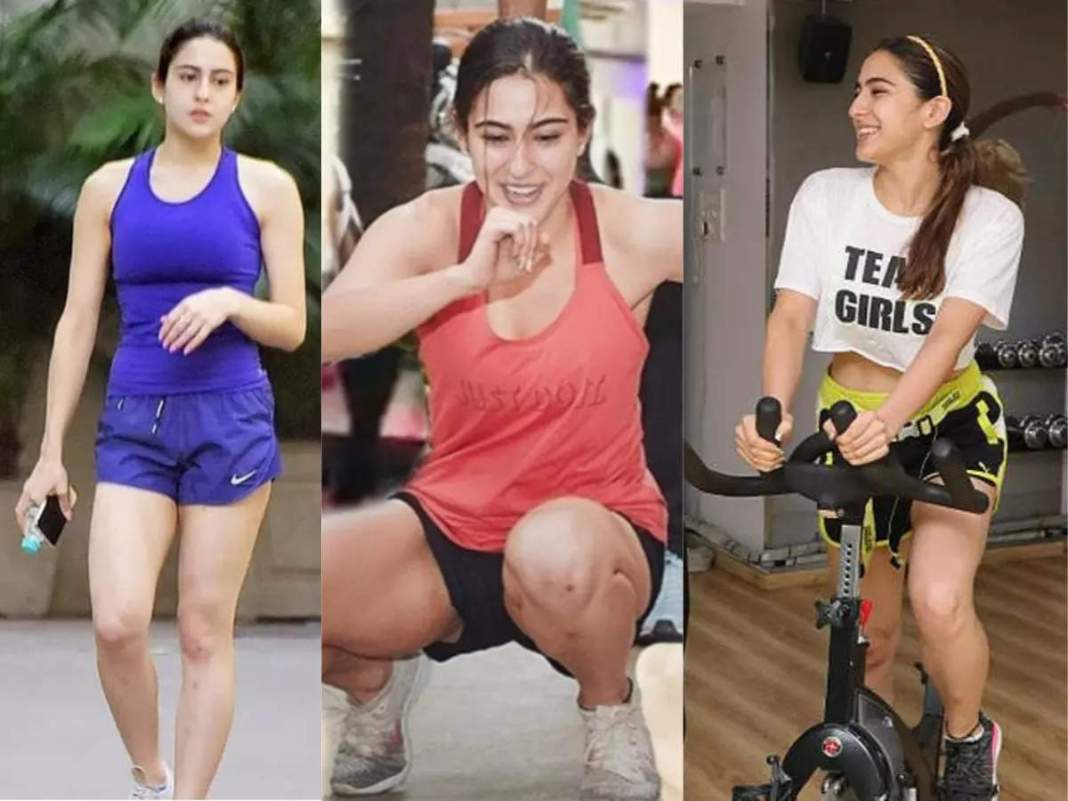 Sara Ali Khan does not look like this slim-trim, does this tough workout to burn belly-thigh and arm fat
