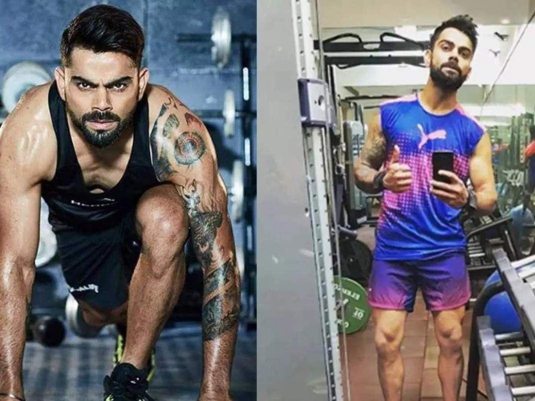 Virat kohli believes in 5 workouts the best, 30 minutes of exercise will get the body in shape;  Will always be FIT