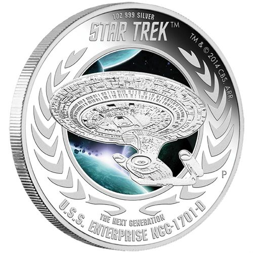 Star Trek: The Next Generation — U.S.S. Enterprise NCC-1701-D