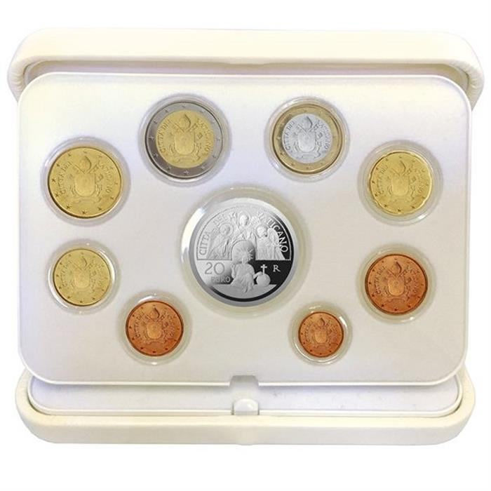 Vatican 2017 Proof Silver Coin Set