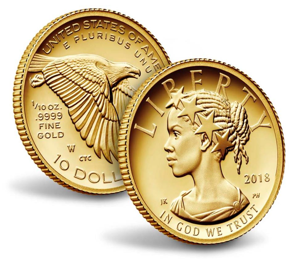 2018 American Liberty One–Tenth Ounce Gold Proof Coin