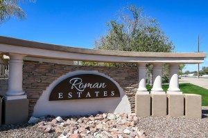 Roman Estates   Neighborhood In Queen Creek, AZ