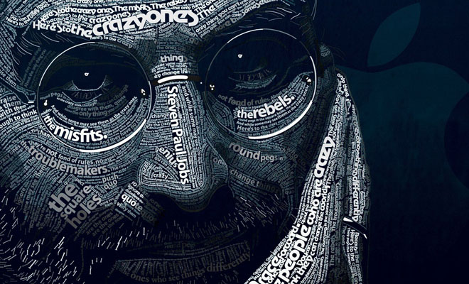 20 Beautiful And Creative Typography Portraits Designs For