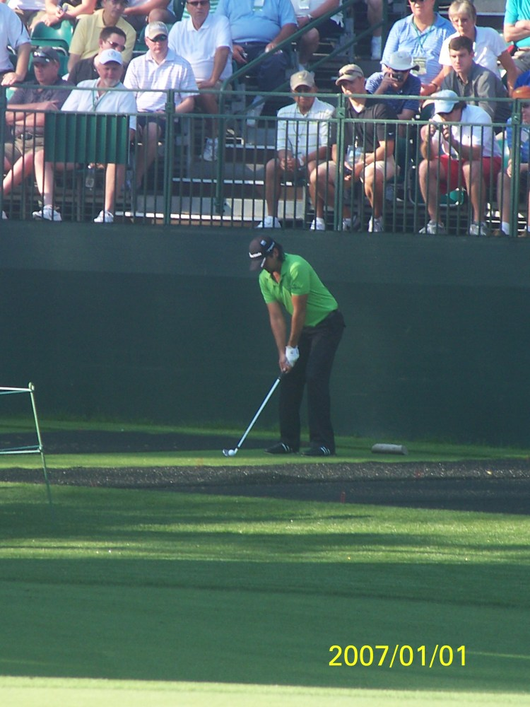 My day at the Masters 2012.. I saw Tiger Woods!!!  (4/6)