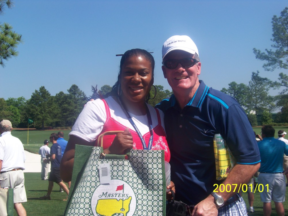 My day at the Masters 2012.. I saw Tiger Woods!!!  (1/6)