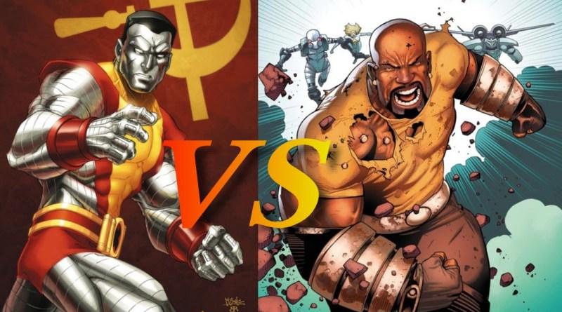 Luke Cage vs Colossus