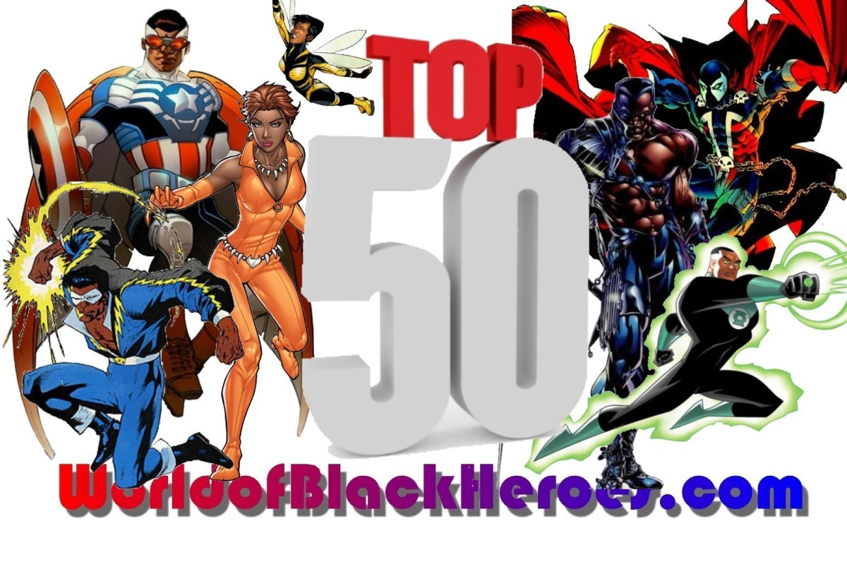 Top 50 Black Superheroes-Fan Edition