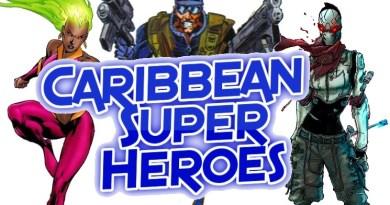 Caribbean superheroes header