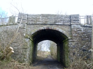 A railway tunnel, but no spook trains here.