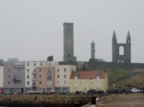 St Andrews from the pier (spot the signalling?)