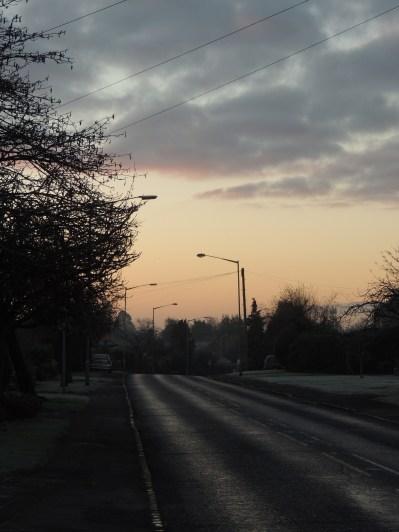 frosty street