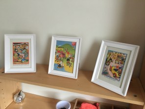 noddy framed pictures