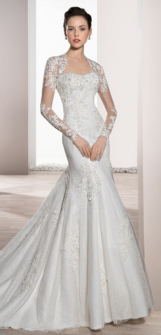 Dress Embellished Soft Fit Sweetheart Wedding And Flare And Line Tulle Lace Neckline