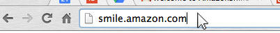 search for Amazon Smile