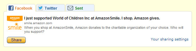Share Amazon Smile